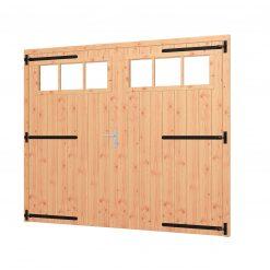 Opgeklampte deur XL dubbel | inclusief bovenraam 54.0060