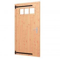 Opgeklampte deur enkel   inclusief bovenraam