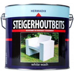 Hermadix Steigerhoutbeits White Wash 2,5L