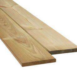 Grenen plank geïmpr. 16 x 140 mm